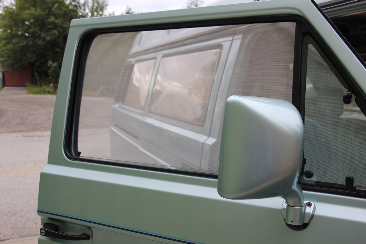 magnetic insect screen for car