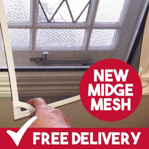 midge mesh insect screens uk