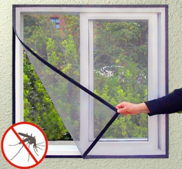scratch-proof mesh window screens